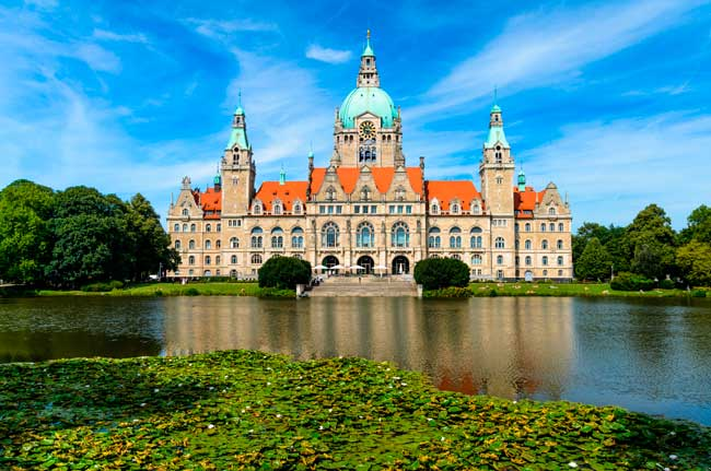The Old City Hal of Hanover is one of the main sights worth to visit within the city.